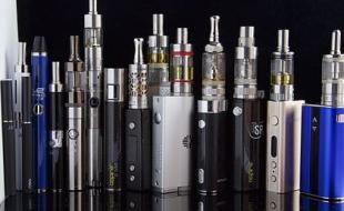 Assorted e-cigarettes. (Photo via Wikipedia.)